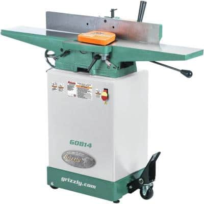 14 Amp/7 Amp 6 in. Corded Jointer with Cabinet Stand