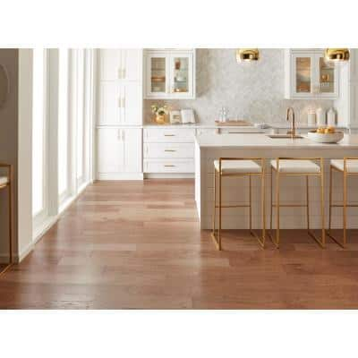 Olympia 6-3/8 in. W Cider Engineered Hickory Hardwood Flooring (30.48 sq. ft./case)