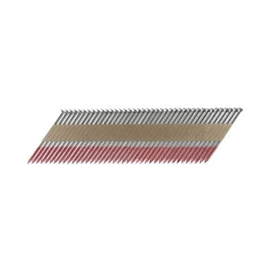 2 in. x 0.113 Paper Tape Collated HD Galvanized Ring Shank Framing Nails (500 per Box)