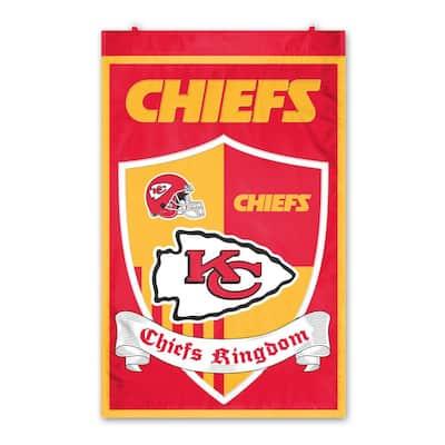 Kansas City Chiefs Wall Shield Tapestry