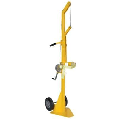 Portable Steel Cylinder Lifter with Hard Rubber Wheels