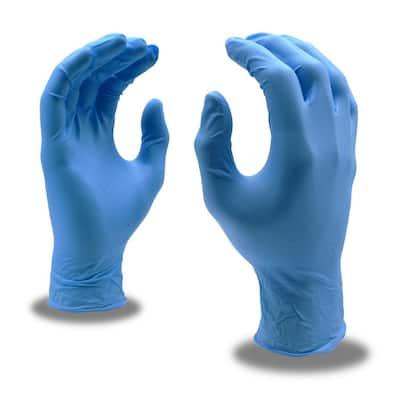 Large Nitrile 4 Mil. Disposable Gloves (10-Pack)
