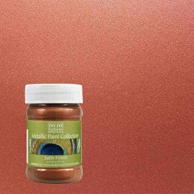 6 oz. Copper Penny Water-Based Satin Metallic Interior Paint
