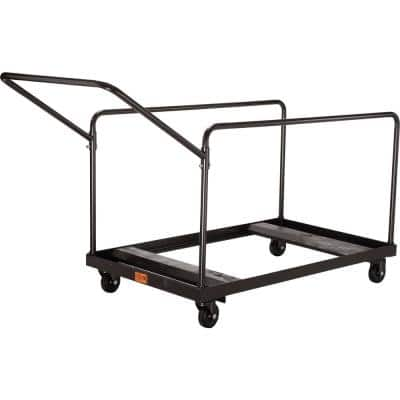 660 lbs. Capacity Folding Table Dolly with Vertical Storage for 48 in. Radius and 60 in. Radius Tables