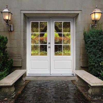 3/4 Lite Hinged Patio Door