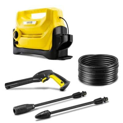 K 2 Entry 1600 PSI 1.35 GPM Cold Water Electric Pressure Washer