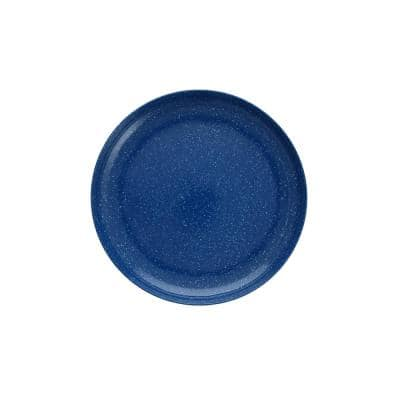 Camp Melamine Dinnerware & Serveware (Dinner Plates (Set of 6), Blue Speckle)