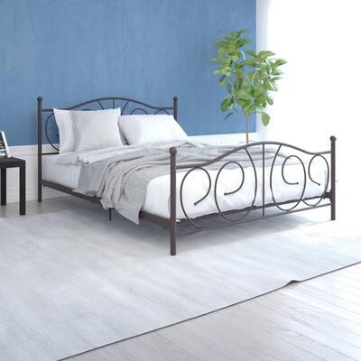 Vanya Bronze Full Bed Frame