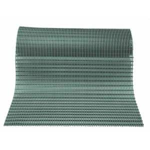 Barepath Grey 3 ft. x 30 ft. PVC Safety and Comfort Rug Runner