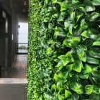 GorgeousHome Artificial Boxwood Hedge Greenery Panels 20 in. x 20 in. /pc (Set of 24)