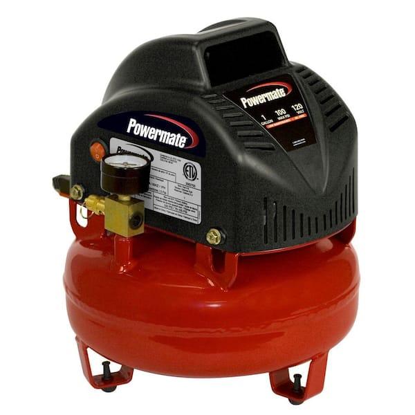 Powermate Portable Electric One Gallon Air Compressor