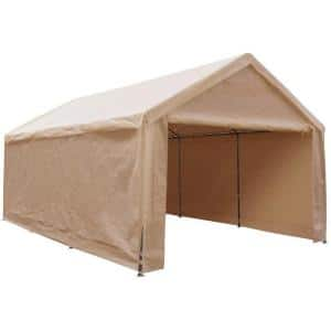 Caravan Sports 10 Ft X 20 Ft Mega Domain Carport 22006200014 The Home Depot
