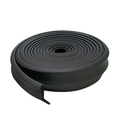 Rubber Garage Door Bottom Bulk Roll 100 Ft