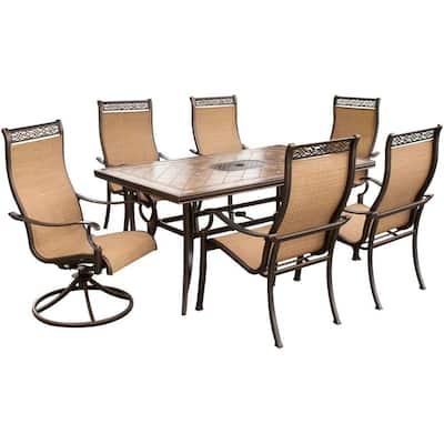 Monaco 7-Piece Outdoor Patio Dining Set