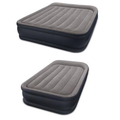Deluxe Air Bed, Queen & Deluxe Airbed, Twin with Built In Pumps