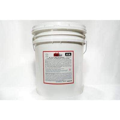 WT-103 5 gal. Clear Matte Latex Interior Intumescent Fireproofing Flame Retardant Coating for Wood