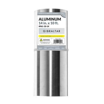 14 in. x 10 ft. Aluminum Roll Valley Flashing