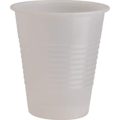 Translucent Plastic Beverage Cups (2400 Per Case)