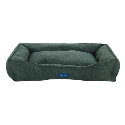 Julius Medium Green Dog Bed
