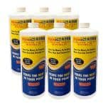 6-Bottles (192 oz.) 0.1 BTU Heat Output Solar Blanket Safe for Swimmers, Reduces Heat, Chemical Loss, Water Evaporation