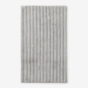 Green Earth Quick Dry Vapor 24 in. x 40 in. Solid Cotton Bath Rug