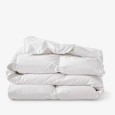 A1HC Organic Cotton Cover Down Alternative Summer/Spring Lightweight Queen Duvet Insert