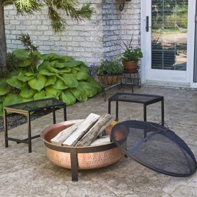 Hand Hammered 100% Copper Fire Pit