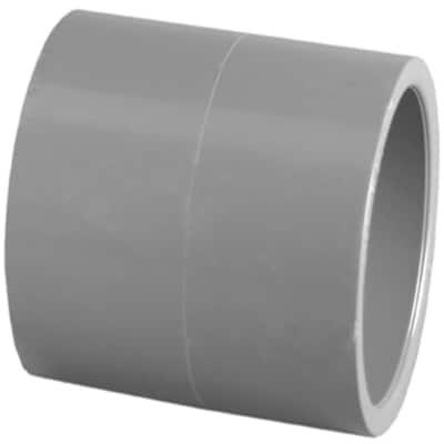 2-1/2 in. PVC Schedule 80 S x S Coupling