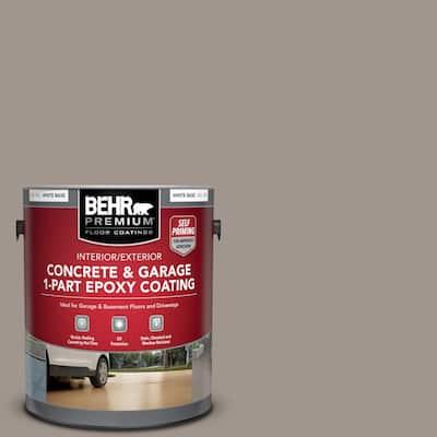 1 Gal. #PFC-73 Pebbled Path Self-Priming 1-Part Epoxy Satin Interior/Exterior Concrete and Garage Floor Paint