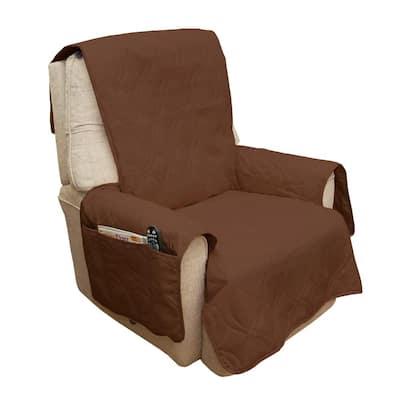Non-Slip Brown Waterproof Chair Slipcover