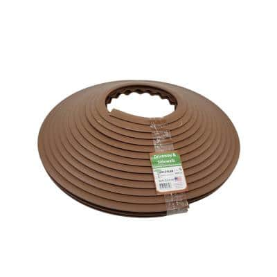 3/4 in. x 50 ft. Concrete Expansion Joint Replacement in Walnut