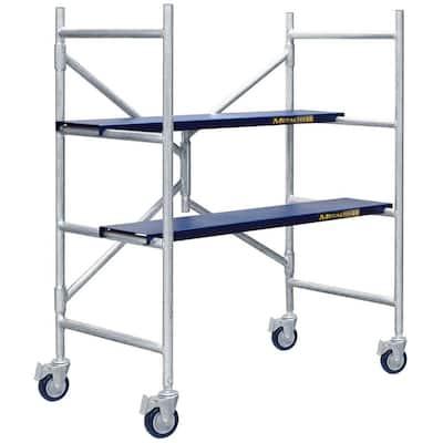 Job Site Series 4 ft. x 3-1/2 ft. x 1-3/4 ft. Scaffold 600 lb. Load Capacity