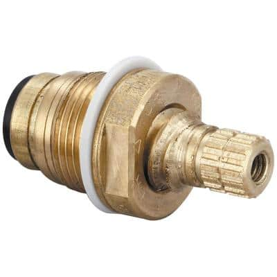 Quick Pression Quarter Turn Cold Stem Faucets in Brass