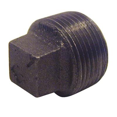 3/8 in. Black Malleable Iron Plug