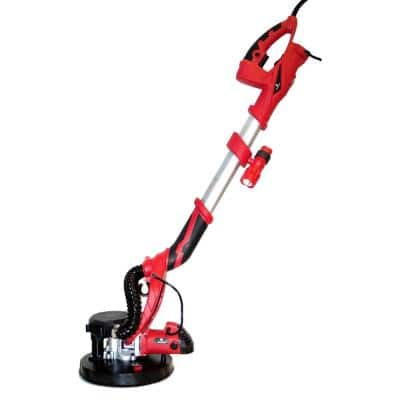 800-Watt Electric Variable Speed Drywall Sander with Vacuum and LED Light