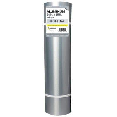 24 in. x 10 ft. Aluminum Roll Valley Flashing
