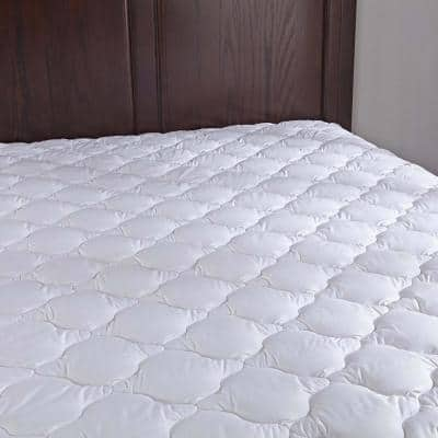 Puredown 15 in. King Polyester Mattress Pad