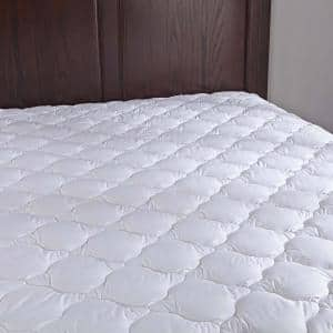 Puredown 15 in. Twin Polyester Mattress Pad