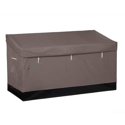 Ravenna 162 Gal. Weatherproof Outdoor Storage Deck Box in Dark Taupe