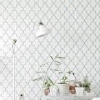 Iron Lattice Wall and Floor Stencil