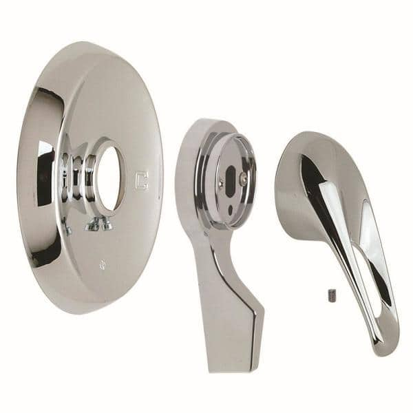 SHOWER MIXER PIN LEVER HANDLE WITH SMALL TRIM