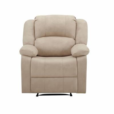 Relax A Lounger Paris Power Recliner, Upholstered Fabric, Beige