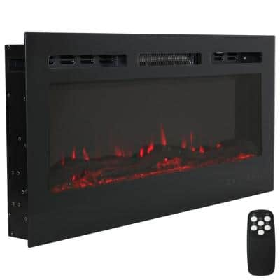 3-er LED Wind Light Glass Deco Timer Flame Fireplace Fire Lantern EasyMaxx NEW *