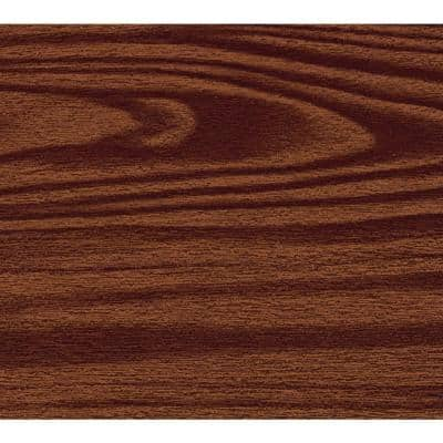 Dark Brown Wood Adhesive Shelf and Drawer Liner