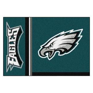 NFL - Philadelphia Eagles Green Uniform Inspired 2 ft. x 3 ft. Area Rug