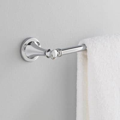 Silverton 18 in. Towel Bar in Chrome