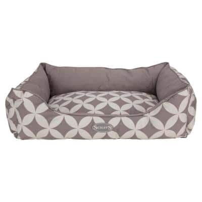 Florence Extra-Large Grey Box Bed