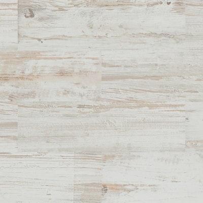 Tribeca White 8 in. x 26 in. Glazed Porcelain Antislip Floor Tile (12.92 sq. ft./case)