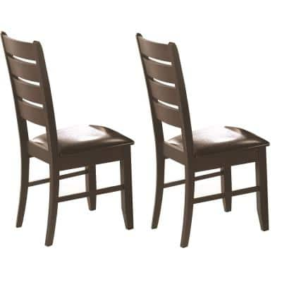 DALILA COLLECTION CAPPUCCINO DINING CHAIR (Set of 2)