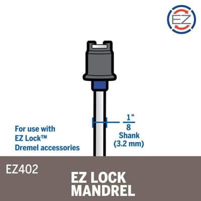 EZ Lock Rotary Tool Mandrel